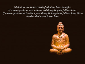 Buddha's Law of Attraction-quotes (Wallpaper)