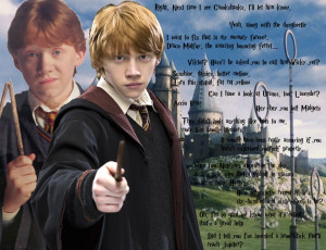 Harry Potter Ron Weasley Quotes Ron weasley wallpaper by