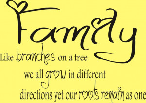Family roots!