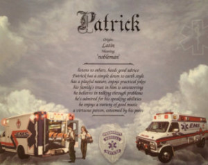 ... Thank You Brother Son Father Friend Coworker Ambulance Driver