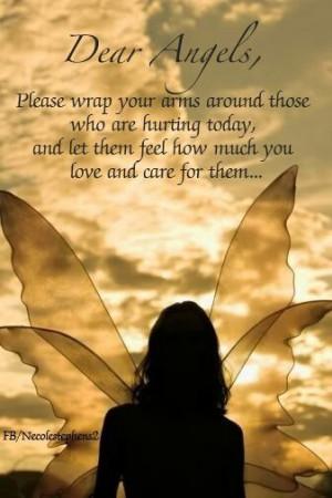 God send your angels..