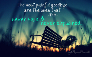 Displaying 18> Images For - Sad Goodbye Quotes...