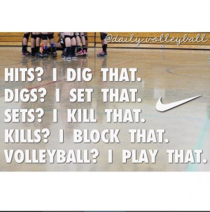 Nike Volleyball Quotes Tumblr Quotes for volleyball players