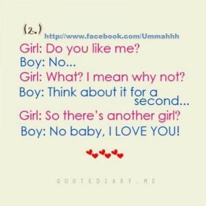Girl : Do You Like Me