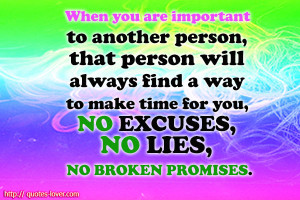 ... Picture Quotes , Important person Picture Quotes , Lies Picture Quotes