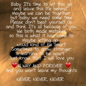 love #hurt #Breakup #heartbroken #girlfriend #Lesbian #lettinggo