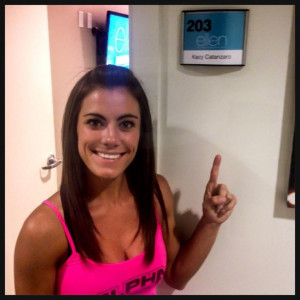 Kacy Catanzaro on Ellen: Ninjas Warriors, American Ninjas