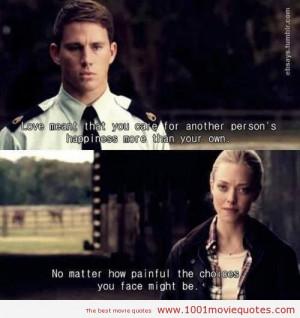 Dear John (2010) - movie quote