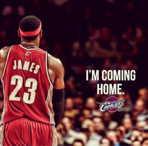 LeBron James is Going Back to Cleveland