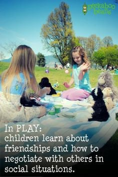 the Peekaboo Beans Blog: Quotes on the Importance of PLAY!! In PLAY ...