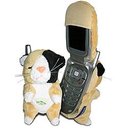 Fun Friends Plush Animal 'Puss Puss (Cat)' Flip Cell Phone Cover
