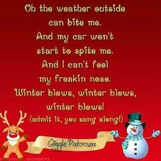 hate winter more everthing christmas christmas laughing quotes winter ...