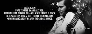 George Jones Choices Lyrics Facebook Covers