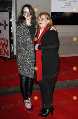 London UK Sophie McShera And Lesley Nicol At The Opening Night Of Bo