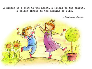 Blessed Sister Cute Quotes