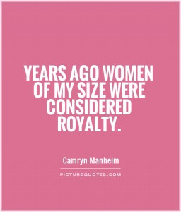 No one wants to see curvy women.