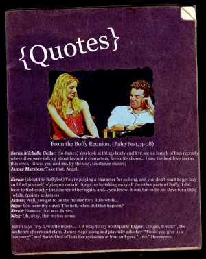 buffy and spike quotes