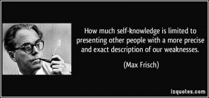 Self Knowledge Quotes