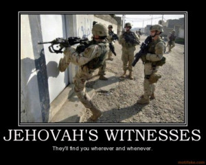 Listing the stupid things about Jehovah's Witnesses was so much fun ...