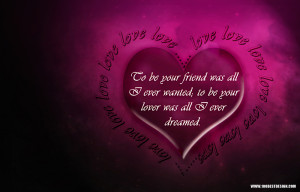 ... Happy valentine's Day Greeting cards and Background quotes in heart