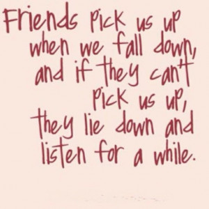 Isn't this true of a good friend?