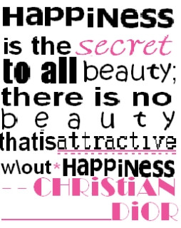 Awesome Christian Quote for Fb Share - Happiness is the Secret to all ...