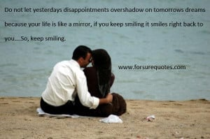 Picture quotes if you keep smiling