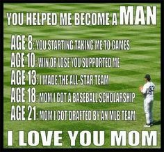 Love baseball. I feel like this is just like my brother. He is ...