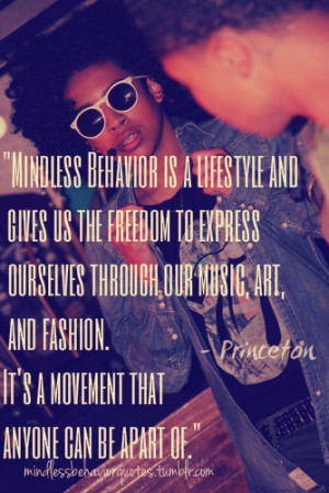 82 notes · #mindless behavior quotes #mindless behavior