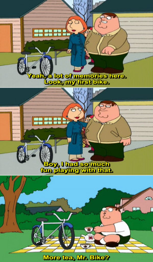 Funny Family Guy Peter Quotes