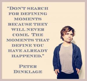 Peter Dinklage.