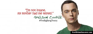 Sheldon Cooper Quotes Timeline Cover