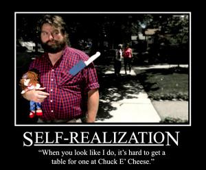 self realization motive motivational poster