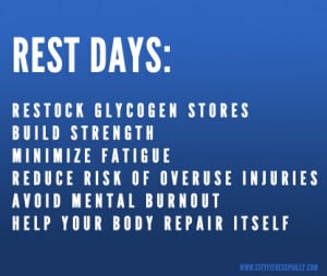 day 1 day 7 is only cardio or rest day