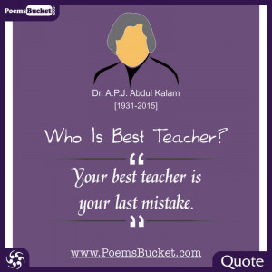 Inspirational Quote By Dr. APJ Abdul Kalam