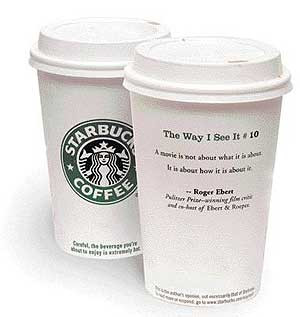 Coffee Cup Quote Starbucks Missed
