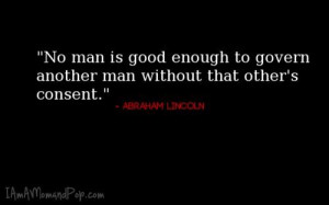 Abraham lincoln, quotes, sayings, govern, man, wisdom