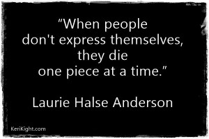 Speak by Laurie Halse Anderson Quotes