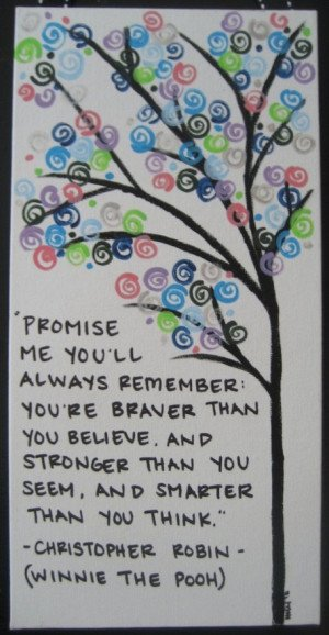 love this quote and the way it is presented on this canvas