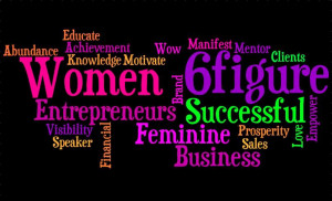 Introspective wallpaper : Empowering Women in Business