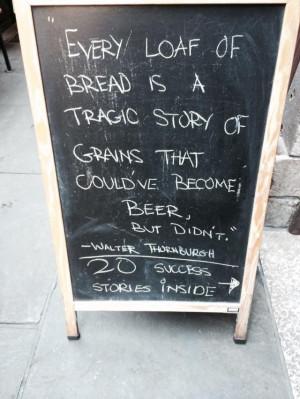 Good Beer Quote