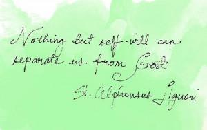 quote st alphonsus liguori on the relgious life | st alphonsus ...