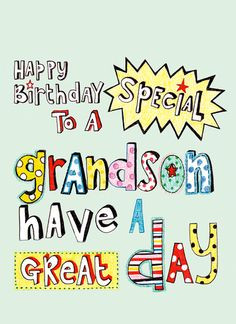 happy birthday grandson google search more birthday boys grandson ...