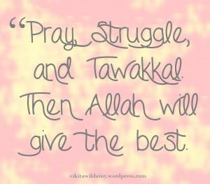 Allah Quote Wallpaper