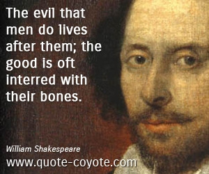 Good Thoughts William Shakespeare