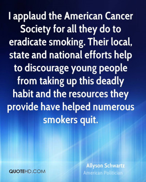 Quotes From American Cancer Society
