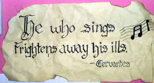 Singing quote by xLindziex