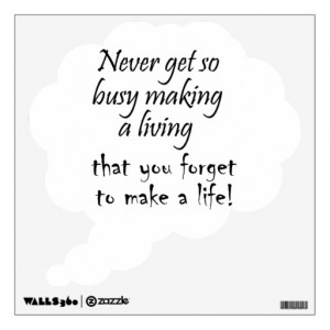 Inspirational quotes wall decal stickers gifts
