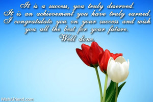 Congratulation Messages For