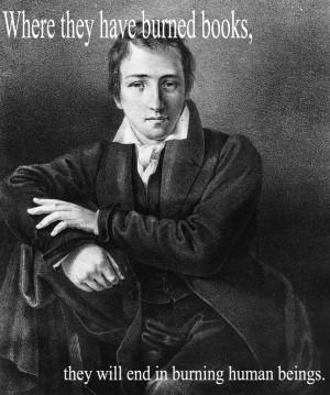 Heinrich Heine, one of great German poets of the 19th century ...
